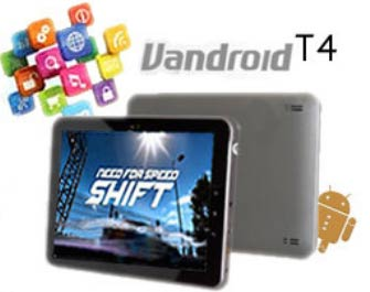 Advan Vandroid T4 Tablet Android ICS Layar 8.4 Inch | ANDROBANA BLOG
