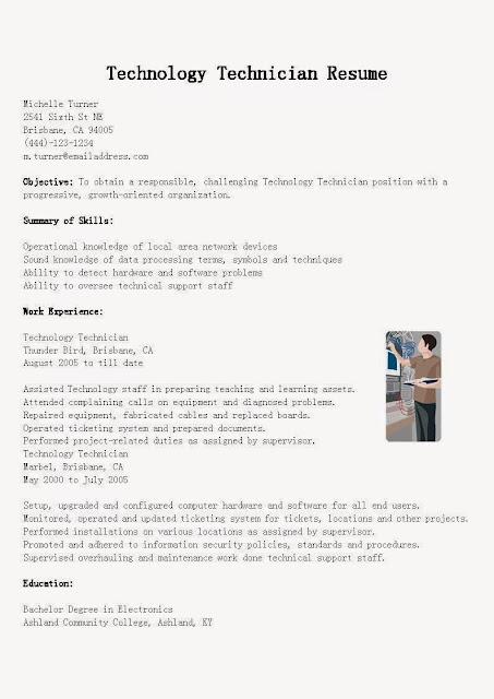 Slot technician resume samples