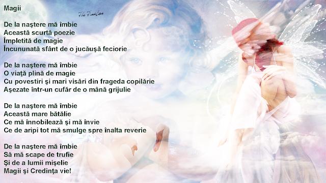 magii poezie filosofie literatura intelepciune magie viata Credinta puritate Maria Teodorescu Bahnareanu Wrinkles on my Timeline