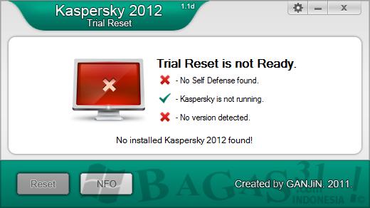 Kaspersky 2012 Trial Reset 1.1d 2