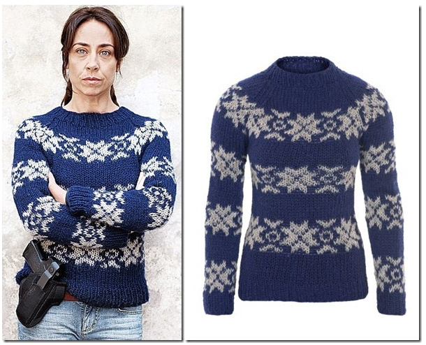 Knitwear as seen on Sarah Lund in The Killing TV show
