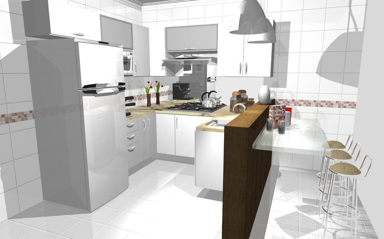 #AC211F Projetos Promob 1440x900 px Projetos Cozinhas Promob #109 imagens