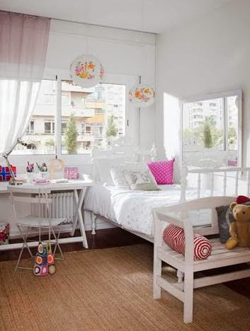 dormitorio infantil estilo provenzal
