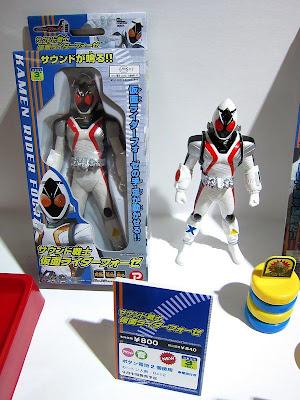 Kamen Rider Fourze Sofbi Figure Series