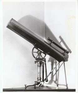 Telescope used for the observation of the Transit of Venus in 1769