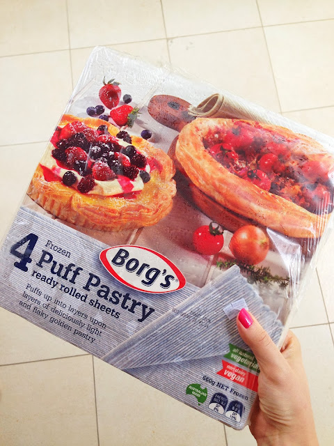 I Got Borg S Frozen Puff Pastry Bought From Cold Storage One North When Tried Baking It For The First Time Puffed Up So Much Like Magic