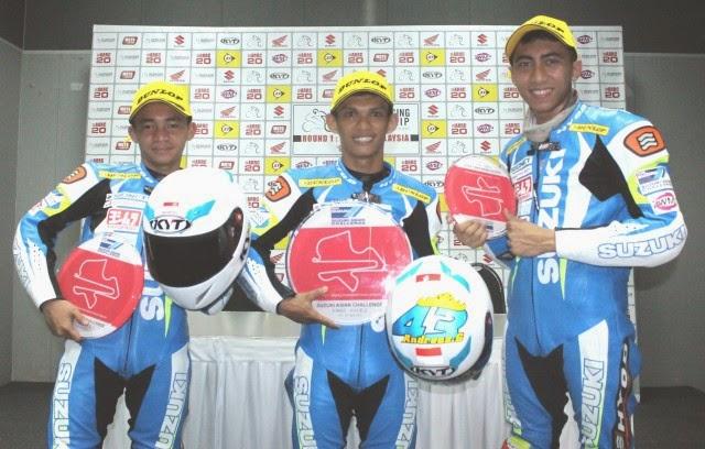 Indonesia Raya Berkumandang di Suzuki Asian Challenge 2015