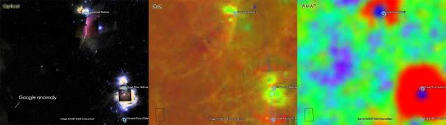 telescopio otico, google sky, iras, SDSS, WMAP, sloan digital survey