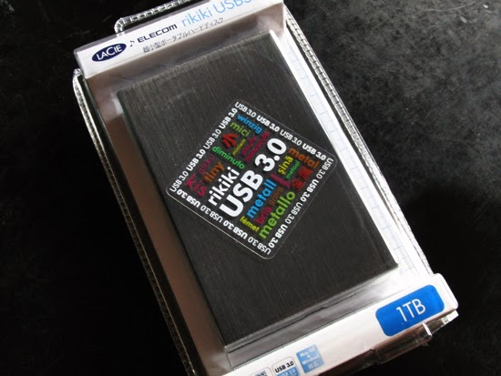 LaCie rikiki USB3.0 1TB