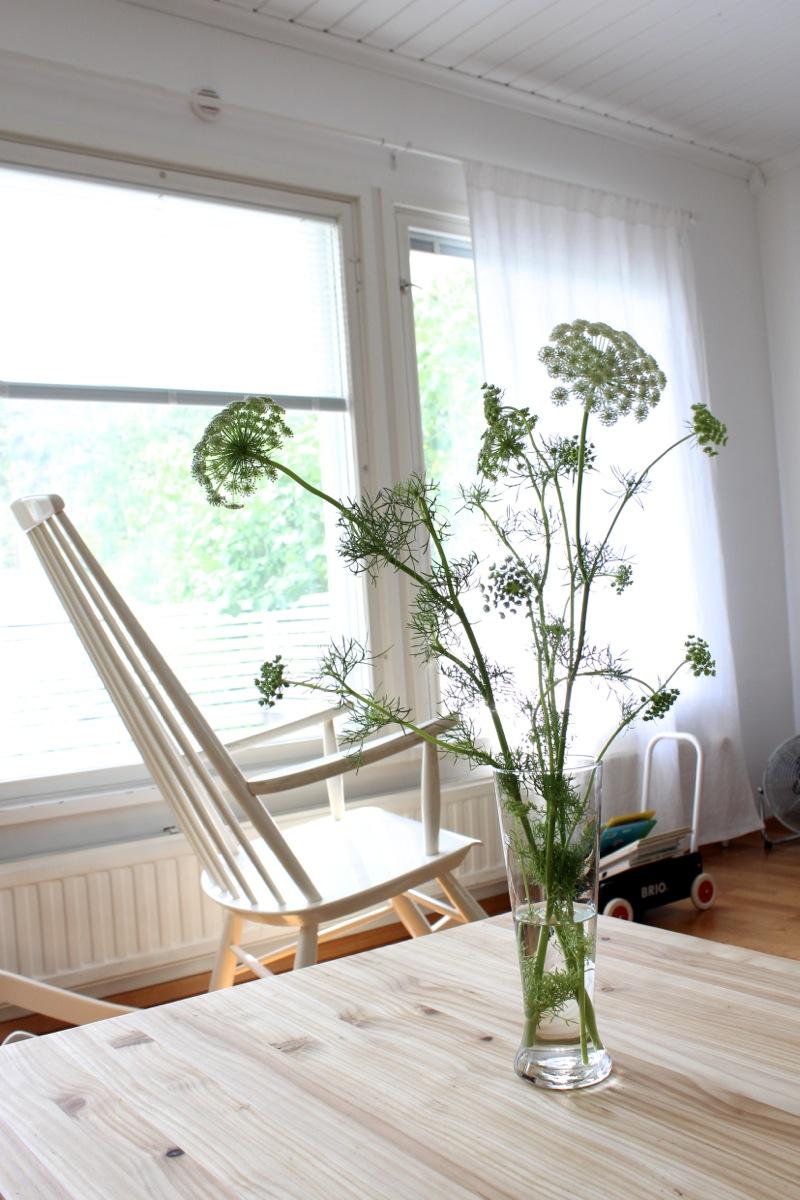 Kesäinen olohuone