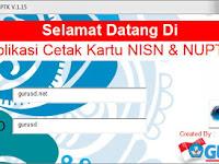 Download Aplikasi Cetak NUPTK dan NRG Terbaru 2016
