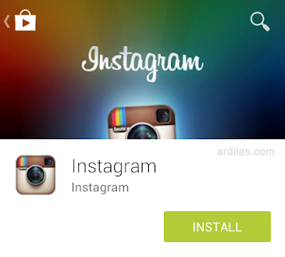 How to Download and Install Instagram Application on Android - Install