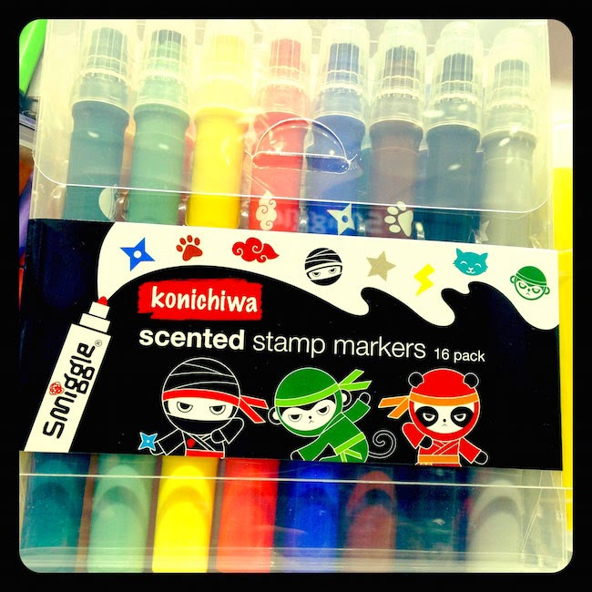 Scented stamp markers