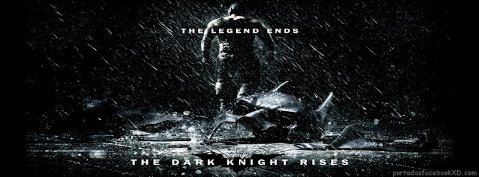 Batman The Dark Knight Rises, imagen para portada de biografia, portada, facebook