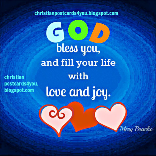 blessings Gods love christian free card images