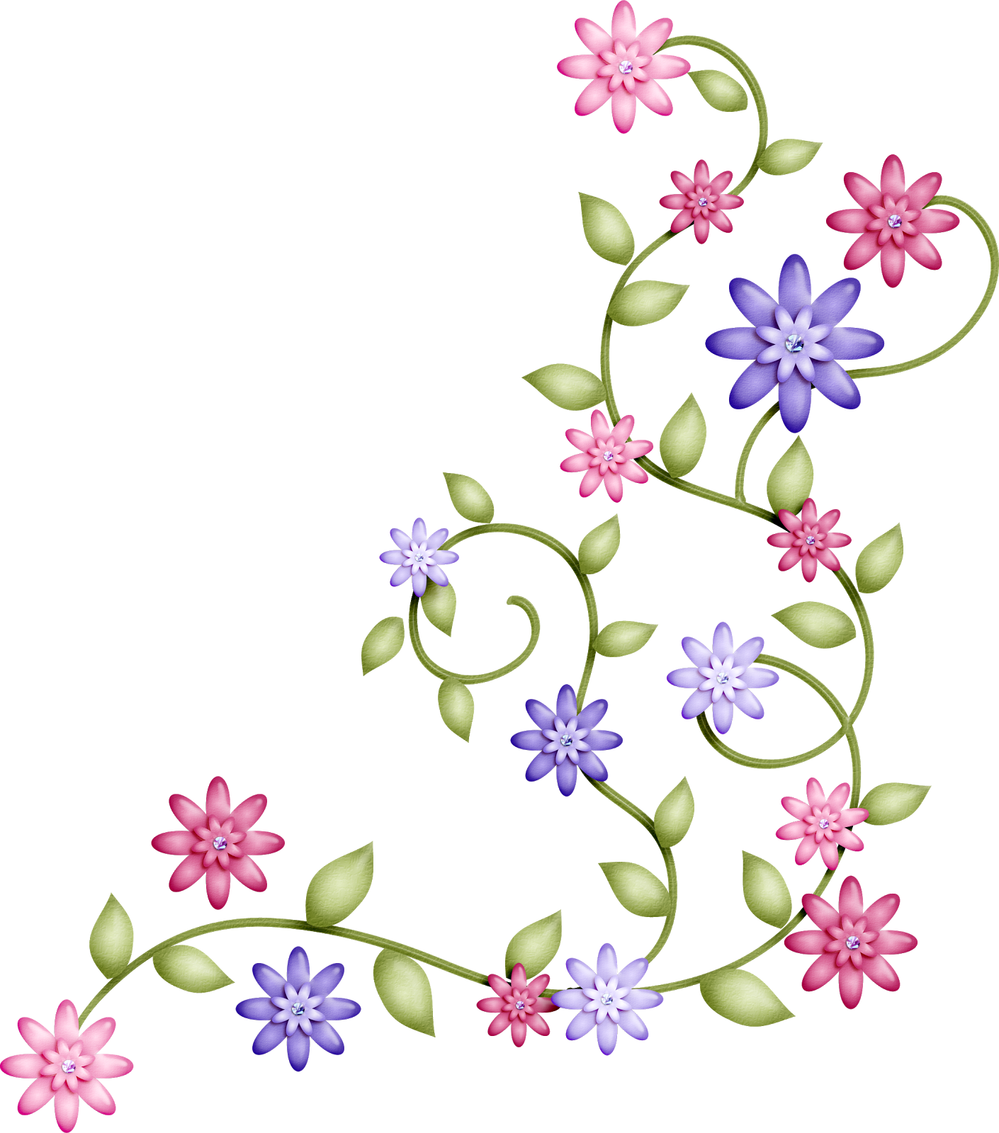 Imagenes de flores en caricatura imagui for Imagenes bonitas para decorar