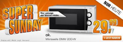 Mikrowelle für unter 30 Euro: OK OMW 200-W bei Saturn für 29,99 Euro