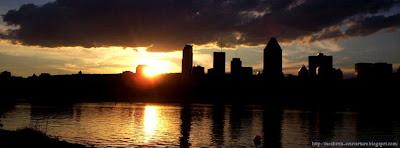 Couverture facebook Montréal- sunset2