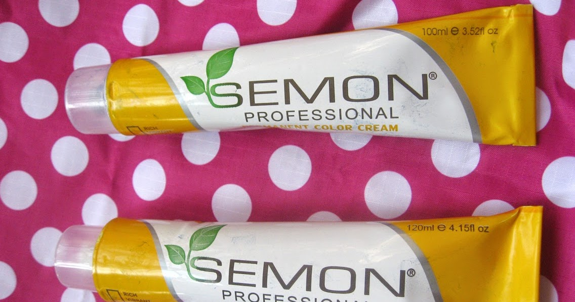 A Splash Of Colorful Addictions Semon Professional Permanent Hair