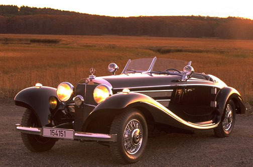 auto 1937 Mercedes Benz