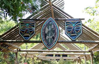 Art Above Bridge to Zoo Proper