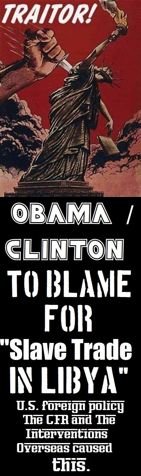 Traitors Obama & Clinton!