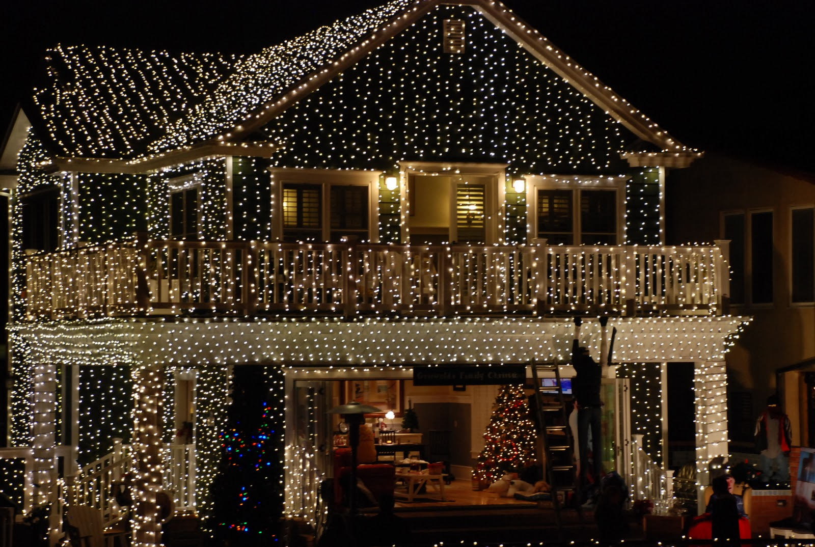 This american home deck the halls holiday lights deck the halls holiday lights mozeypictures Gallery