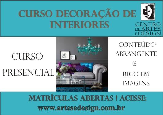 curso de decoracao de interiores leiria:CENTRO DE ARTES E DESIGN: Curso de Decoração de Interiores