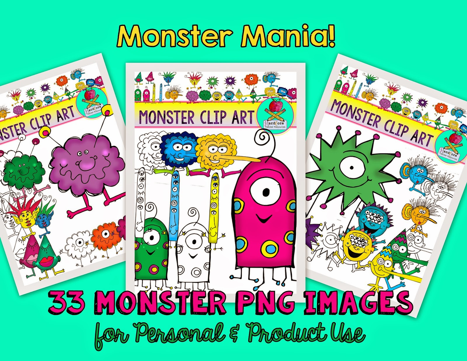 http://www.teacherspayteachers.com/Product/Monster-Clip-Art-33-PNG-Monster-Images-Commercial-Personal-Use-MONSTERS-1365489