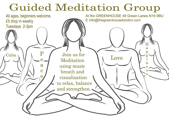 Guided Meditation Group Flyer