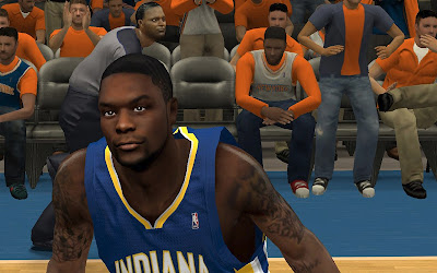 NBA 2K13 Lance Stephenson Realistic Face Mod