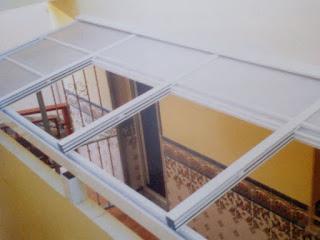 Fabricación y colocación de techos móviles