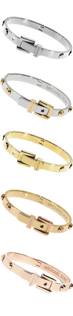 MICHAEL Michael Kors Astor buckle Bangle Bracelets