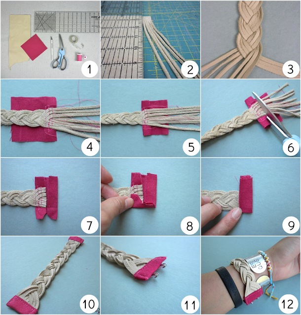 Diy bracelet tutorial