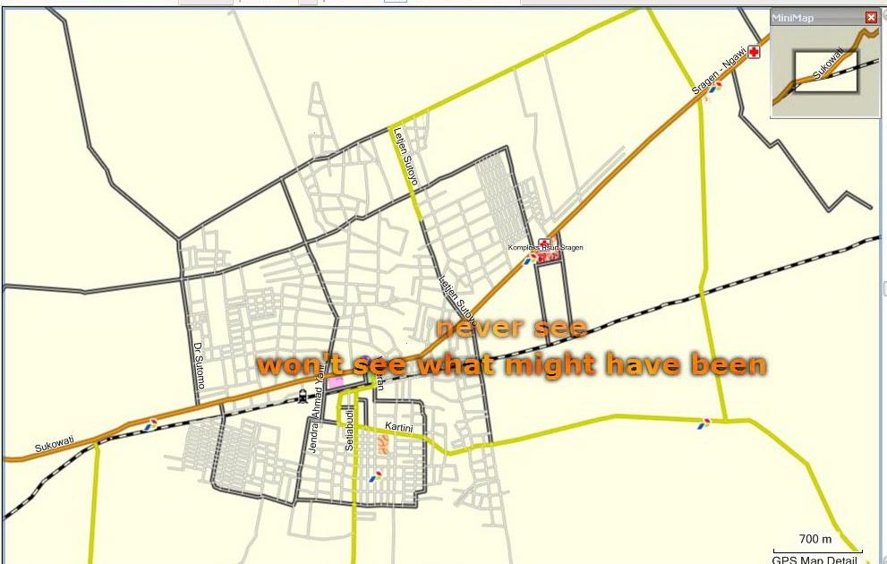 Peta Kota: Peta Kota Sragen