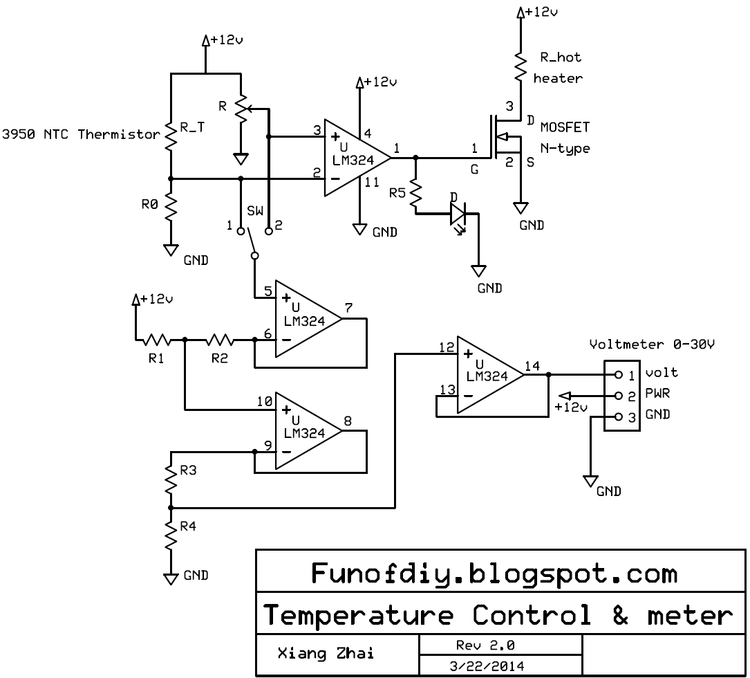Temperature control system Version 1. See this post for detail. The  #383838