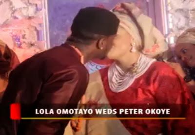 lola omotayo wedding video