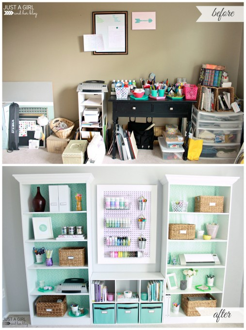 23 luxury home office organization ideas diy for Office organization tips and ideas
