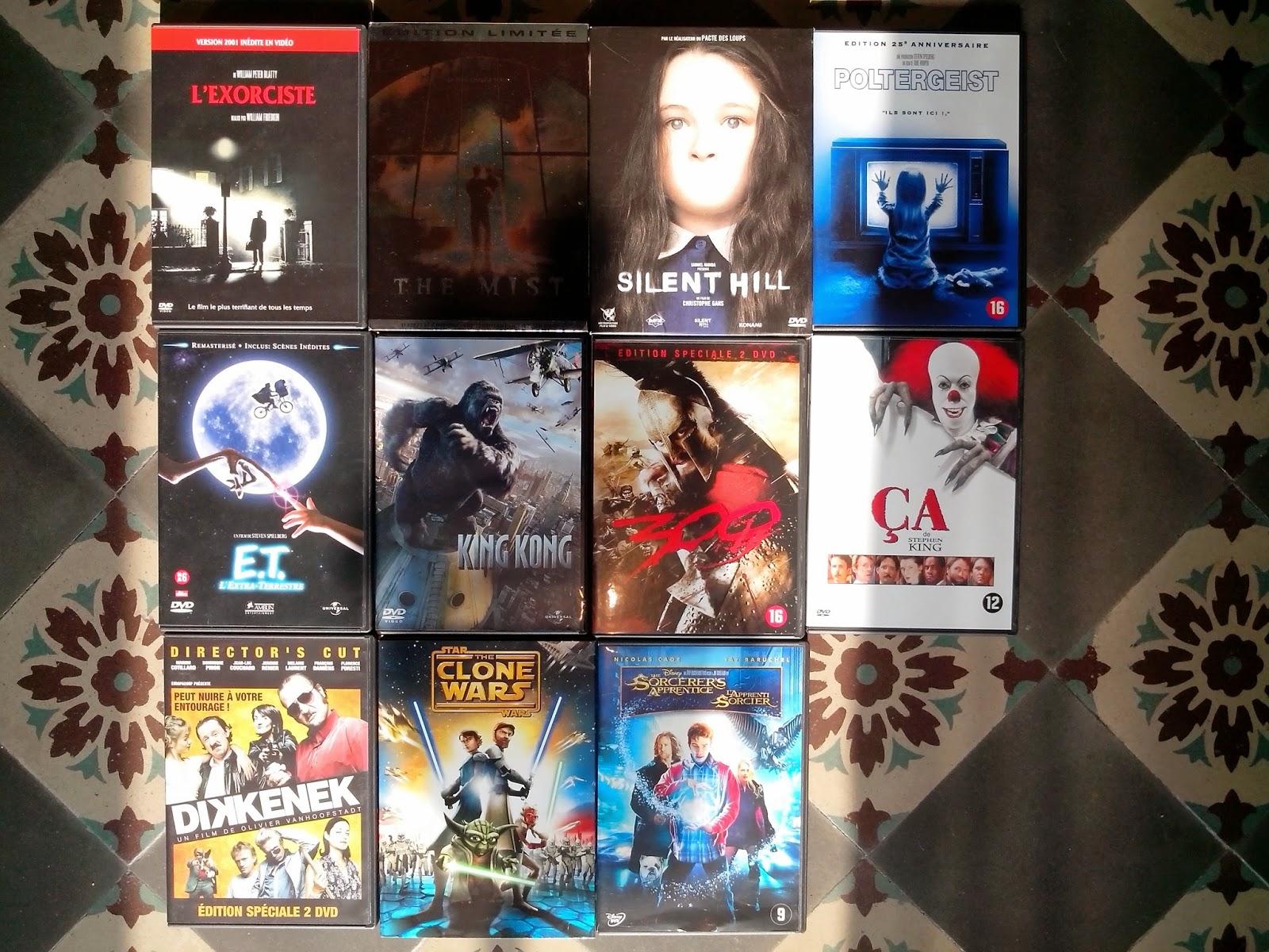 Divers DVD a vendre Films
