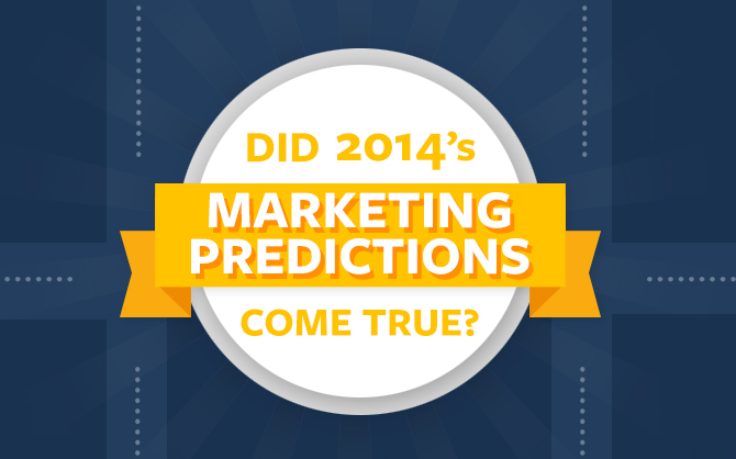 A Look Back at the Marketing Predictions that Failed and Came True
