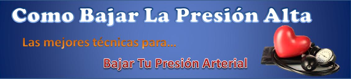 Como Bajar La Presion Alta: marzo 2012