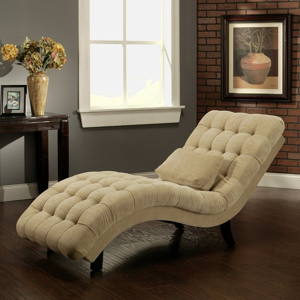 Total fab upholstered chaise lounges for bedrooms for Bedroom chaise lounge