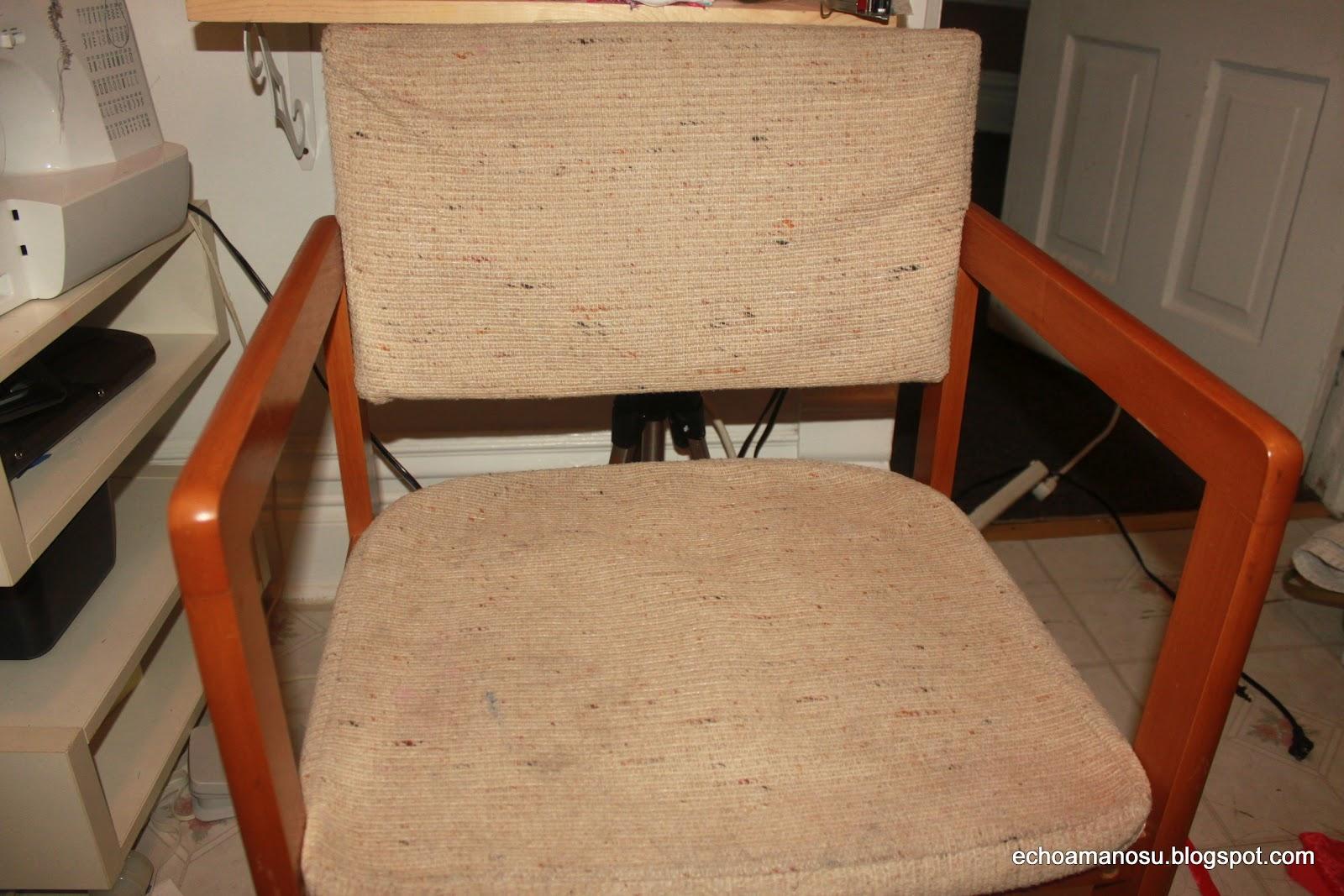De todo manualidades retapizado de silla para cuarto de ni a - Silla para habitacion ...
