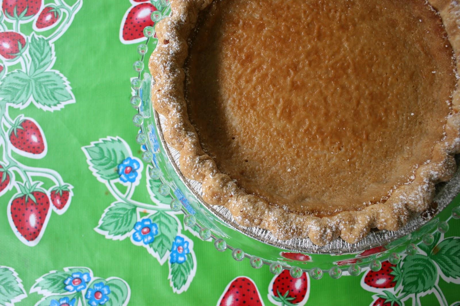 Hoosier Mama's Hoosier Sugar Cream Pie | Nothing in the House