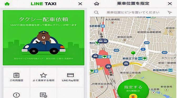 Line Taxi, Brand Terbaru Dari LINE