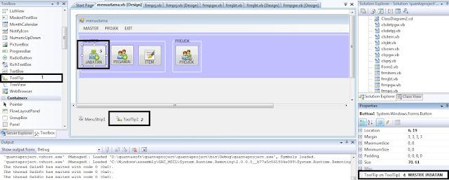 Cara Membuat Tooltip Terbaru Pada VB.NET