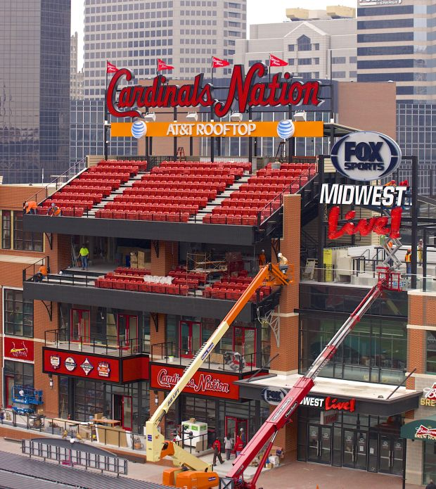 historic ballparks rooftop seating throughout history