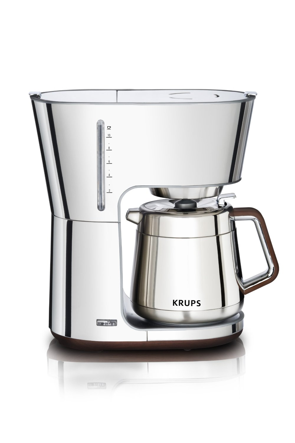 Coffee maker with grinder and thermal carafe - Click Here To Read More Reviews About Krups Km720d50 Programmable 12 Cup Coffee Maker With Glass Carafe And Lcd Screen Stainless Steel