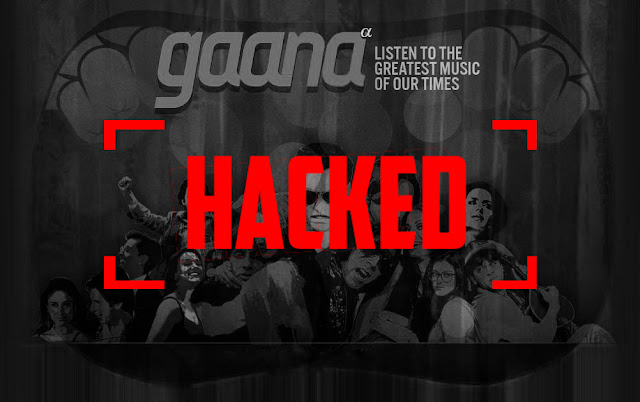 Indian Music Streaming Service Gaana Hacked