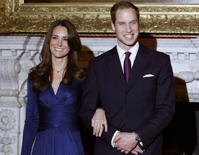 Foto Kate Middleton dan William
